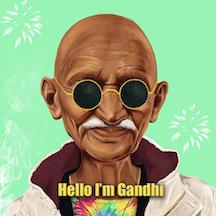 Hello Im Gandhi
